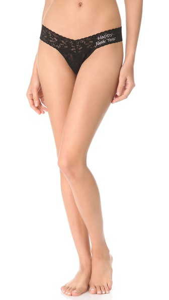 Hanky Panky Happy New Year Low Rise Thong