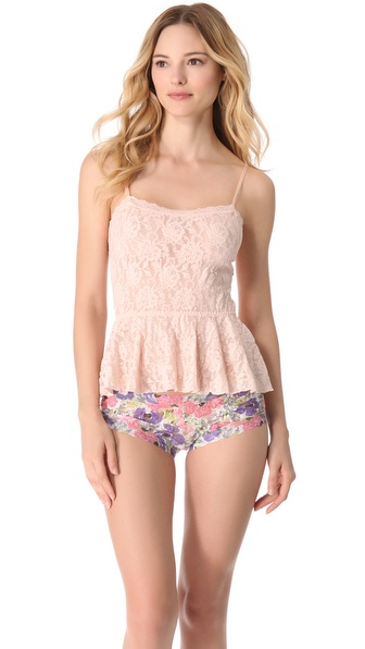 Hanky Panky Signature Lace Peplum Camisole