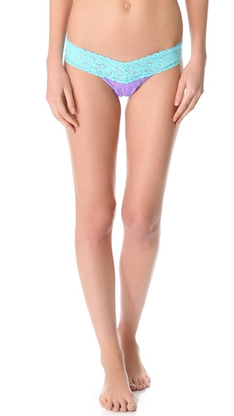 Hanky Panky Color Play Low Rise Thong