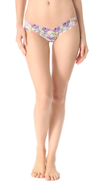 Hanky Panky Poppies Low Rise Thong