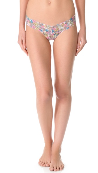 Hanky Panky Flower Child Low Rise Thong