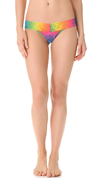 Hanky Panky Acid Rainbow Low Rise Thong