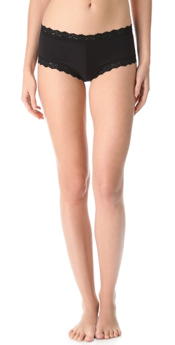 Shop Hanky Panky Cotton with a Conscience Boy Shorts and Hanky Panky online - Apparel,Womens,Lingerie,Panty, online Store