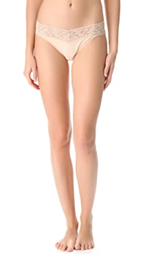 Hanky Panky Cotton with a Conscience V-Kini Briefs