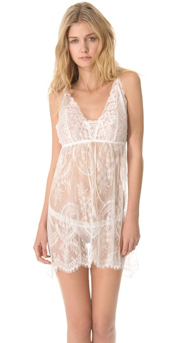 Hanky Panky Victoria Chemise with G-String