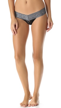 Hanky Panky Shimmer Colorplay Low Rise Thong