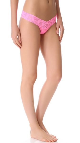 Hanky Panky Petite Signature Lace Low Rise Thong