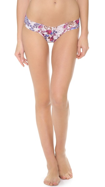 Hanky Panky Crown Jewels Low Rise Thong