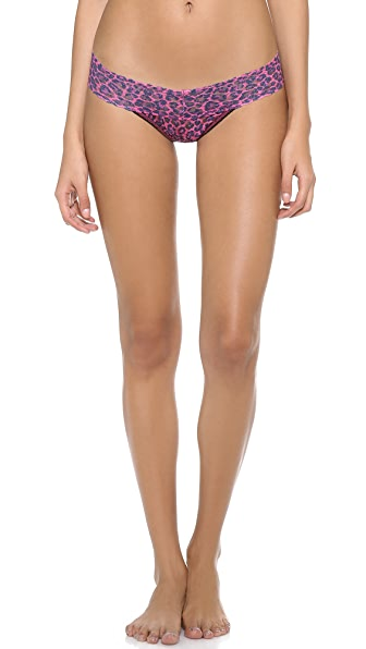 Hanky Panky Wild Cat Strikes Again Petite Low Rise Thong