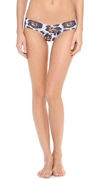 Hanky Panky Big Cat Low Rise Thong