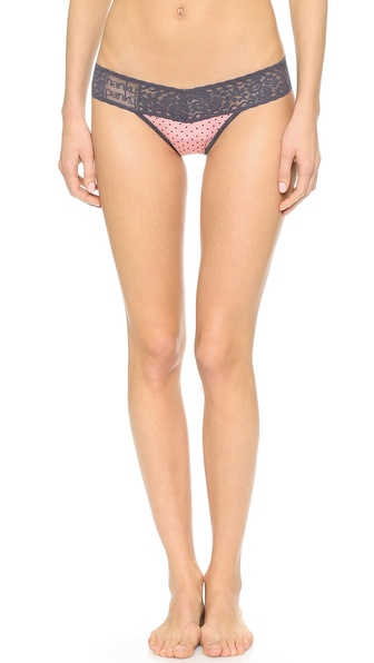 Hanky Panky Dotty Modal Low Rise Thong