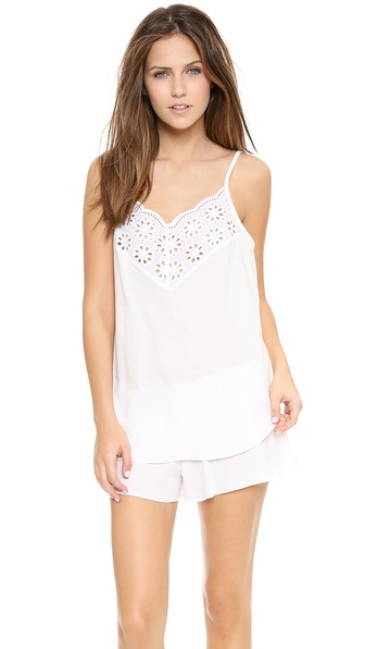 Hanky Panky Eyelet Sleep Set