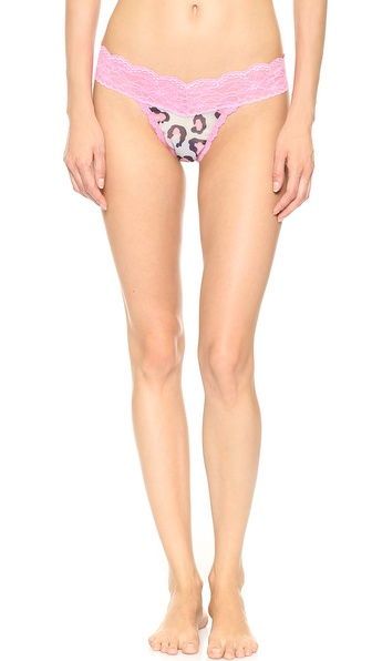 Hanky Panky Purrfectly Sheer Low Rise Thong