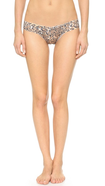 Hanky Panky Leopard Low Rise Thong