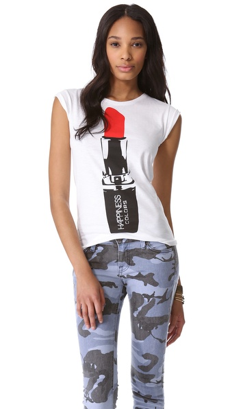 Happiness Get Your Rouge On Tee