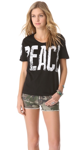 Happiness Peace Out Tee