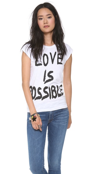 Happiness Love is Totally Possible Tee