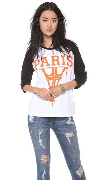 Happiness Paris is What's Up Tee