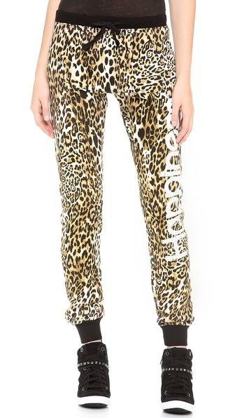 Happiness Leopard Sweatpants