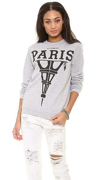 Happiness Paris Is What's Up Sweatshirt