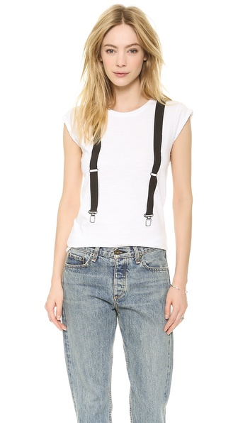 Happiness Suspender Tee
