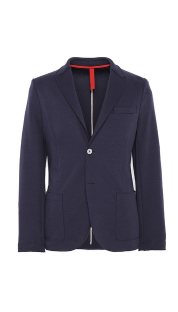 Harris Wharf 2 Button Blazer with Elbow Patch