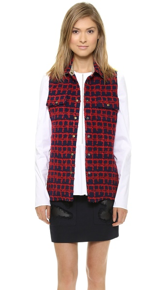 Harvey Faircloth Shirt Jacket Vest