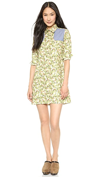 Harvey Faircloth Shirtdress