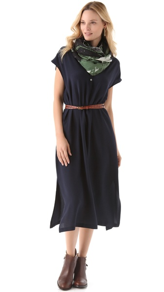 HATCH The Airplane Midi Dress
