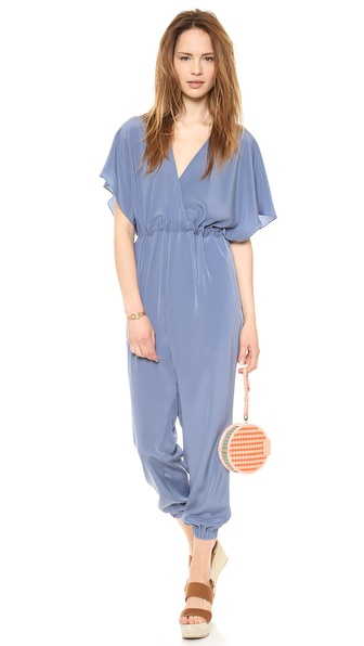 HATCH V Neck Jumpsuit