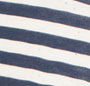 Navy and White Speckled Stripe
