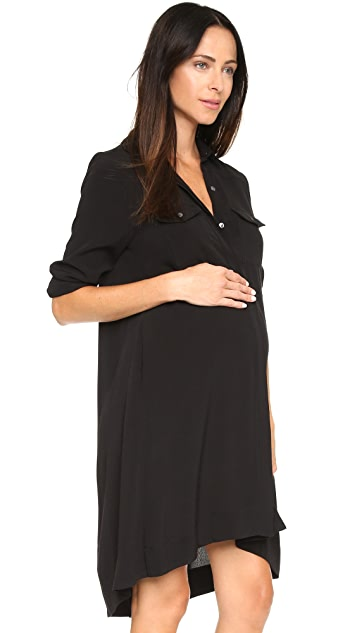 HATCH 衬衣式连衣裙