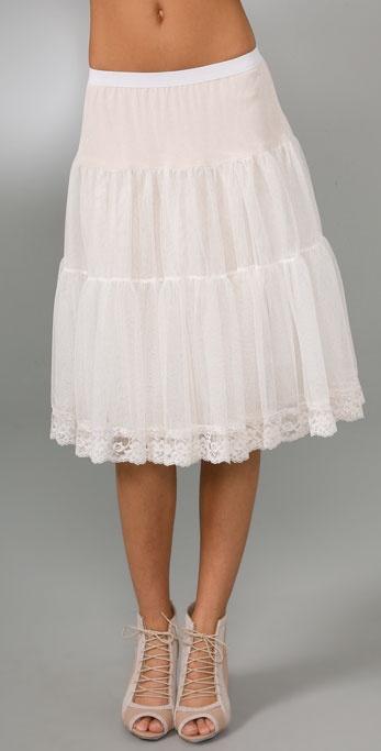 Haute Hippie Petticoat Skirt