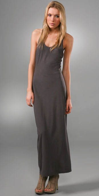 Haute Hippie Racer Back Long Dress