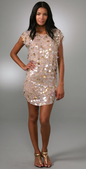 Haute Hippie Embellished Dress
