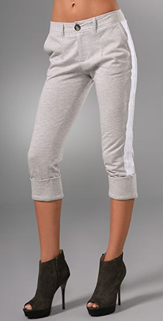 Haute Hippie Slouchy Cropped Pants