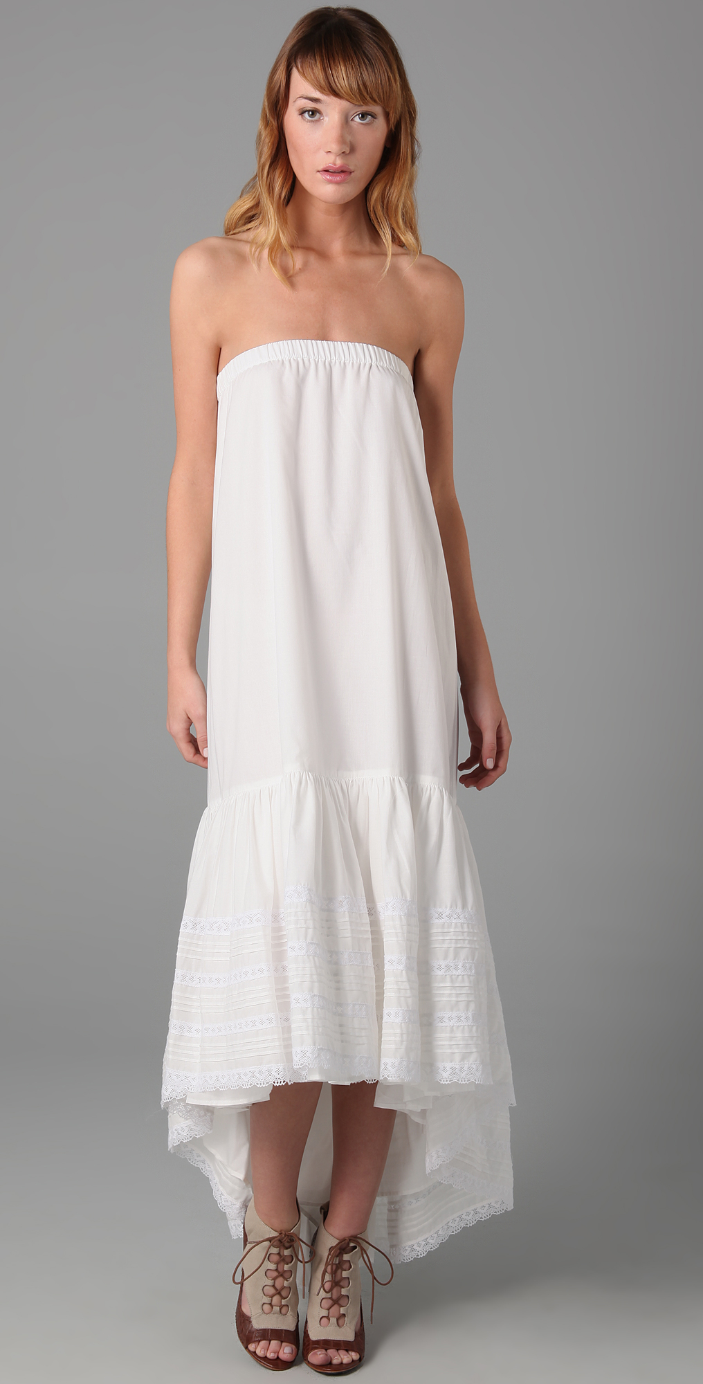 Haute Hippie Long Tiered Dress / Skirt