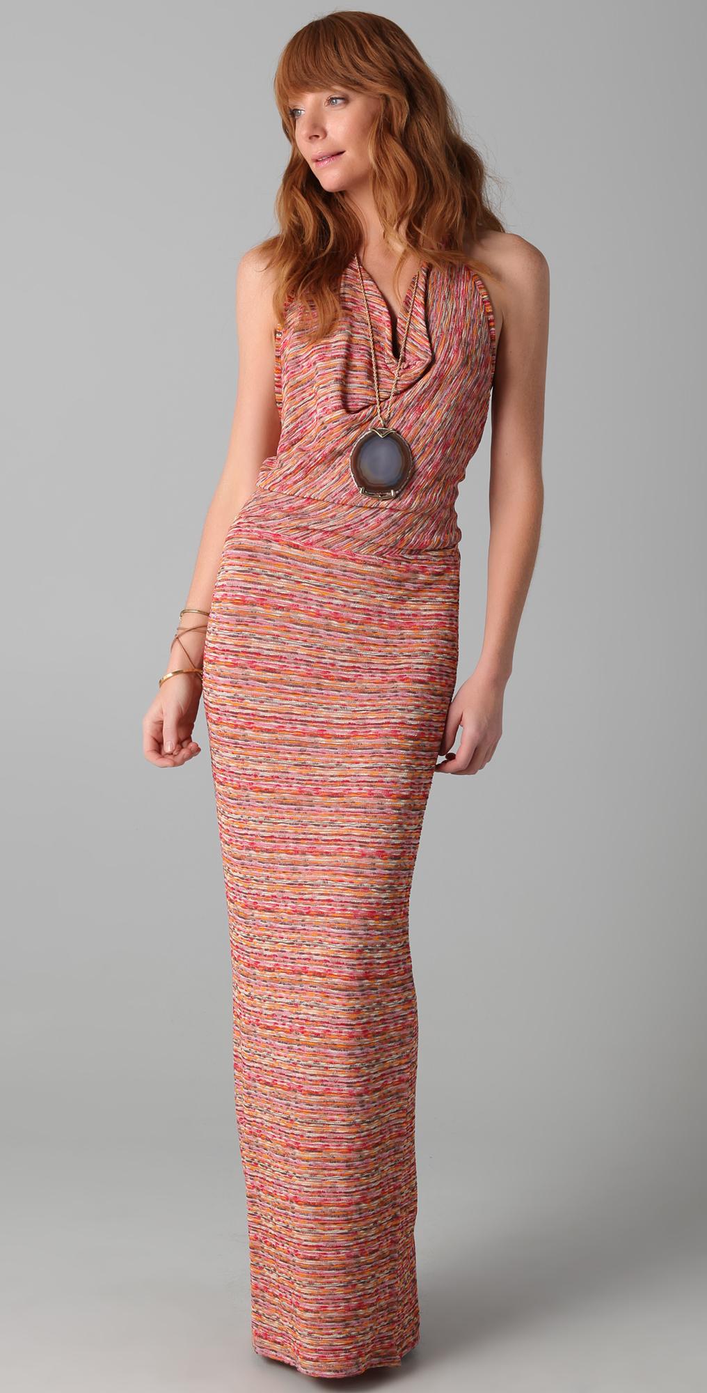 Haute Hippie Scarface Halter Dress