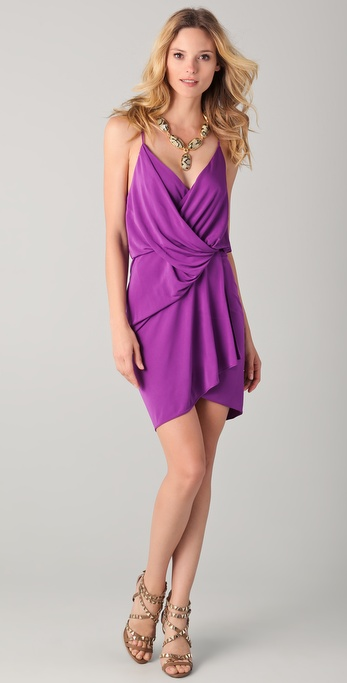 Haute Hippie Kaitlin Drape Front Dress