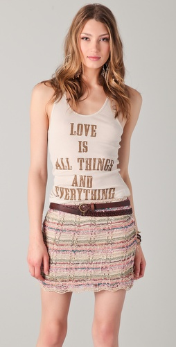 Haute Hippie All Things Tank