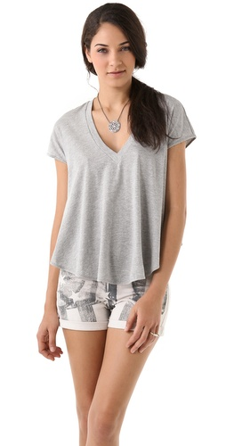 Haute Hippie Deep V T-Shirt