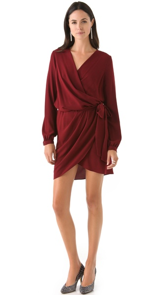 Haute Hippie Long Sleeve Dress