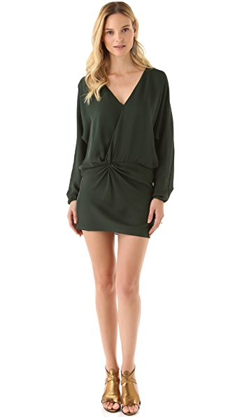 Haute Hippie Dolman Sleeve Dress