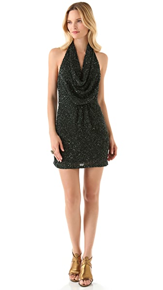 Haute Hippie Junk Sequin Mini Dress