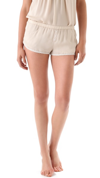 Haute Hippie Silk Georgette Shorts