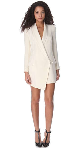 Haute Hippie Extra Long Blazer Dress