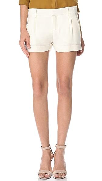 Haute Hippie Tux Shorts