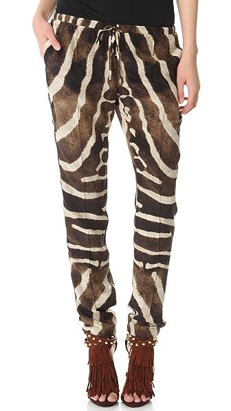 Haute Hippie Slim Drawstring Pants