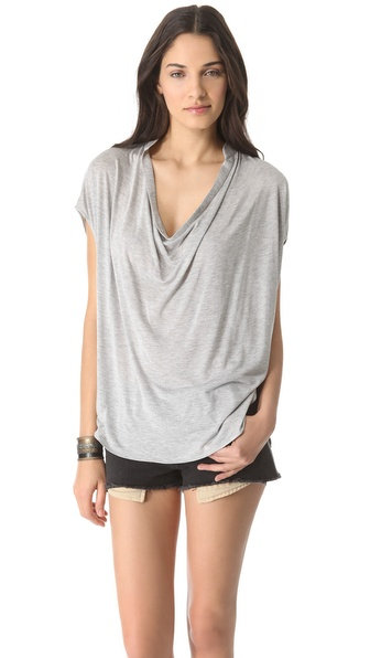 Haute Hippie Jersey Dolman Sleeve Blouse