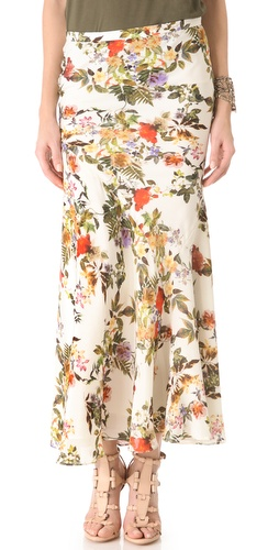 Haute Hippie Long Skirt